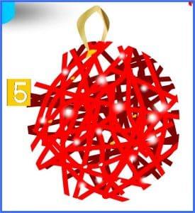 Crear bolas navideñas
