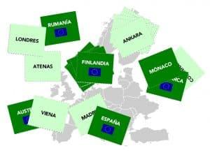 Jugamos con los países y las capitales de Europa