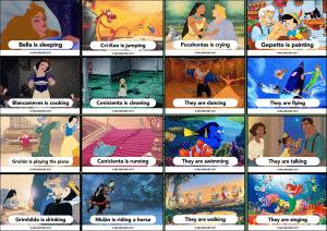 Verbos básicos en inglés – Presente continuo
