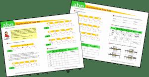 Método ABN. Numeración en base 2
