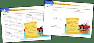 División por una cifra (Método ABN y Tradicional)