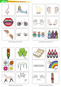 Método ABN. Patrones físicos con significado (24 tarjetas)