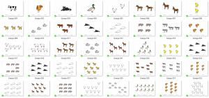 Método ABN. Subitización: qué es y qué fases seguir en el aula (incluye láminas)