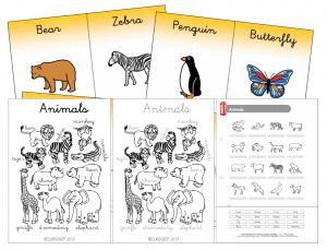 English – Animals worksheets