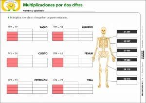 Método ABN. Multiplicaciones por dos cifras