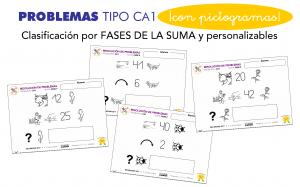 Resolución de problemas CA1 con pictogramas en Educación Infantil