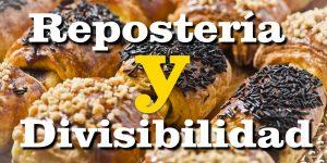 Repostería y divisibilidad
