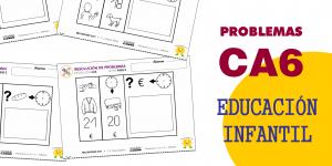Resolución de problemas CA6 con pictogramas en Educación Infantil