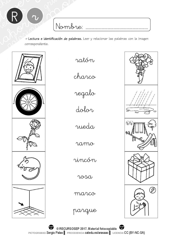 Material lectoescritura: LETRA R (Cartilla y batería de actividades)
