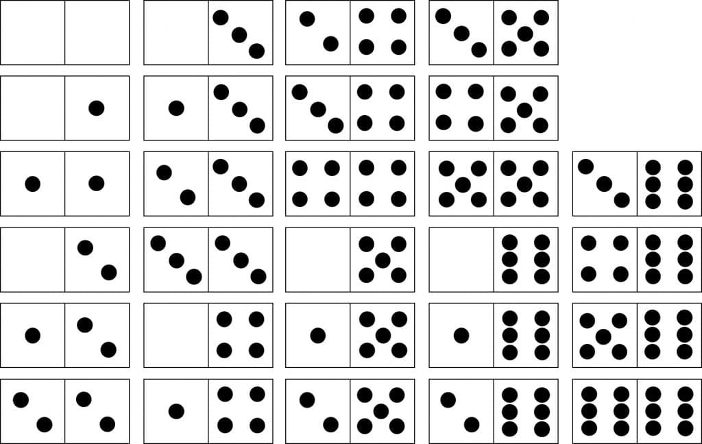 5 domin s descargables para educaci n infantil n meros for Fichas de domino