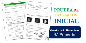 Evaluación Inicial 4.º de Primaria – CIENCIAS DE LA NATURALEZA