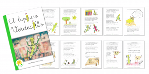 El lapicero Verdecillo – Un cuento de Laura Negueruela Hernaiz