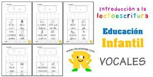 Iniciación a la lectoescritura: VOCALES