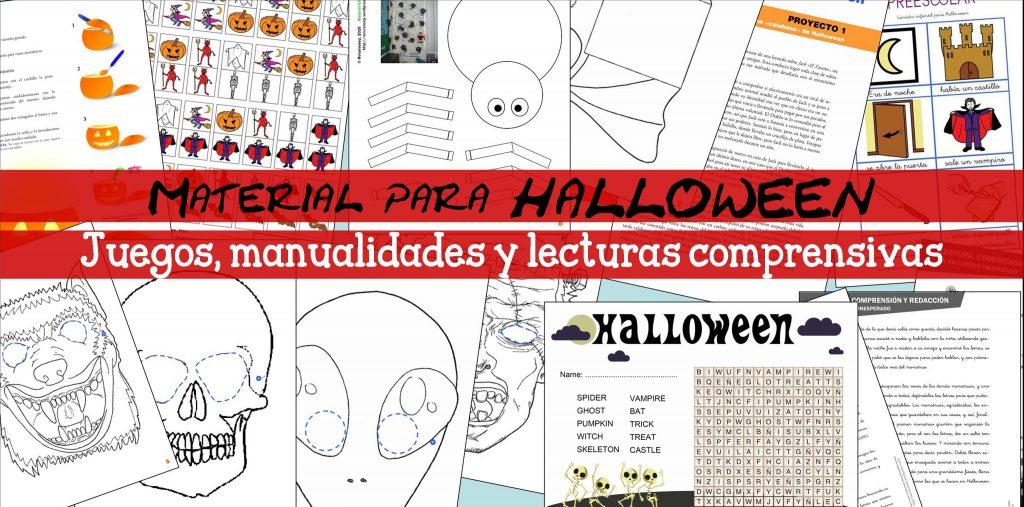 Juegos, manualidades y lecturas para HALLOWEEN (Infantil y primaria)