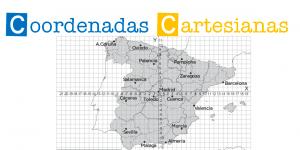 Coordenadas cartesianas en mapas