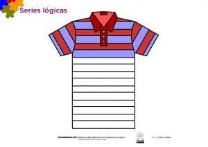Fichas de series lógicas – Educación Infantil