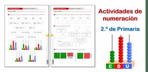 Actividades de numeración (2.º de Primaria)