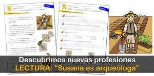 """Comprensión Lectora: """"Susana es arqueóloga"""""""