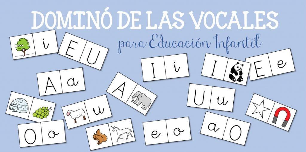 Domino De Las Vocales Para Educacion Infantil on Imagenes De Animales Para Colorear