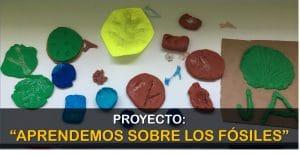 """Proyecto: """"Aprendemos sobre los FÓSILES"""""""