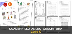 Cuadernillo de lectura y escritura: letra K