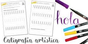Introducción: Caligrafía artística [tombow brush pen]