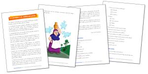 LA LECHERA Y EL JARRO DE LECHE- Comprensión lectora (2.º – 3.º Primaria)