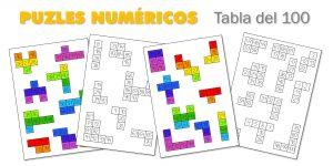 Puzles numéricos – Tabla del 100