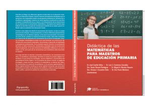 Libro: Didáctica de las Matemáticas para maestros de Educación Primaria