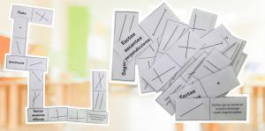 DOMINÓ: Elementos básicos en geometría (puntos, segmentos, rectas y semirrectas)