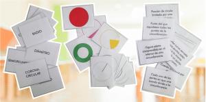 MEMORY: Elementos de la circunferencia y el círculo (conceptos, ilustraciones y definiciones)